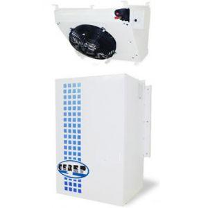 Сплит-система холодильная для камер до  44.00м3, -5/+10С, крепление вертикальное, R404, ВПУ