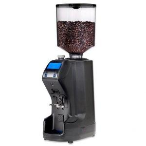 Кофемолка-автомат, бункер 1кг, 9кг/ч, черная (б/у (бывший в употреблении))