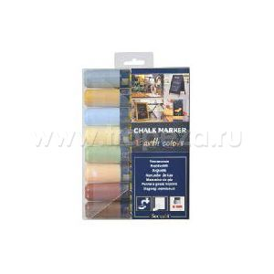 Маркеры (набор 8шт), пастельные цветные