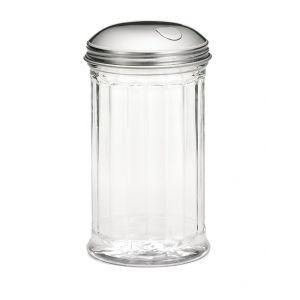 Емкость 355мл для специй с клапаном, пластик прозрачный