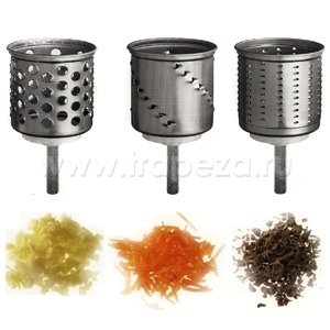 Ножи-барабаны дополнительные для овощерезки, 3шт. (Без оригинальной упаковки)