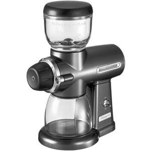 Кофемолка, скорость вращения ножей 450об/мин, серый металлик (Без оригинальной упаковки)