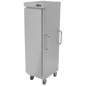 Шкаф тепловой, 20GN1/1, 1 дверь глухая, колеса, нерж.сталь, конвекция, электронный терморегулятор (б/у (бывший в употреблении))