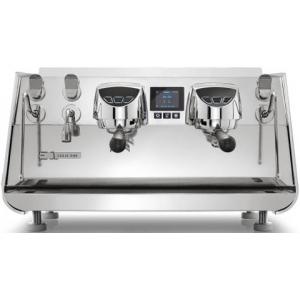 Кофемашина-автомат, 2 группы, мультибойлерная, нерж.сталь, подсветка, 220V