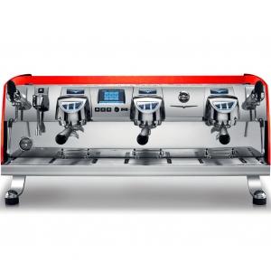 Кофемашина-автомат, 3 группы, мультибойлерная, технология T3, технология Gravimetric, цвет Pcolor SPEC.*RAL 3026 OPACO, 220 V  (б/у (бывший в употребл