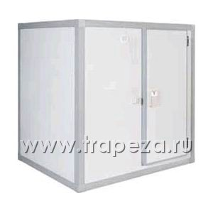 Камера холодильная замковая,   7.70м3, h2.16м, 1 дверь расп.правая, ППУ80мм