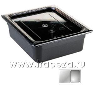 Гастроемкость GN1/2х100, черный поликарбонат