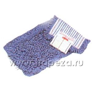 Моп SANI L 46см w 17см антибактериальный, голубой