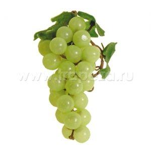 Виноград гроздь L 15см, пластик зеленый