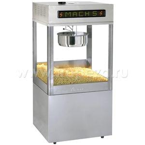 Попкорн аппарат, 48oz, Mach5, соль/сахар, напольный, насос