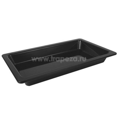 Гастроемкость GN1/1х65, пластик черный